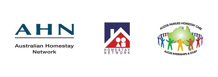 Logos for homestay
