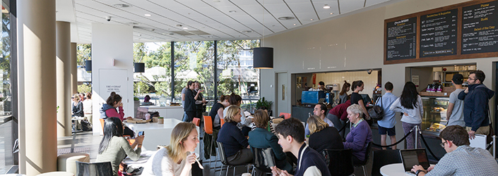 an image of the Library Cafe